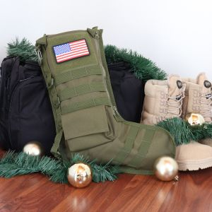 RuckUp Tactical Holiday Stocking with USA Patch | Osage River