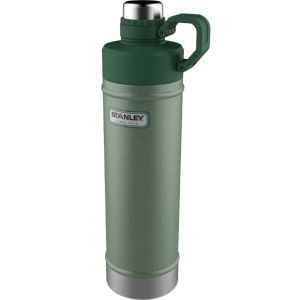 stanley classic 25 ounce vacuum thermos bottle in matte black