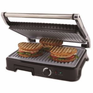 Oster DuraCeramic Panini Maker and Indoor Grill
