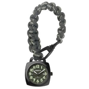 Dakota Survival Pocket Watch w/ Paracord Strap