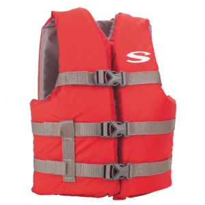Stearns Youth Boating Life Vest Red