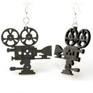 Vintage Movie Camera Earrings | Green Tree Jewelry