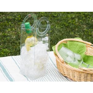 Bottle Bubble Ice Reusable Wine Tote
