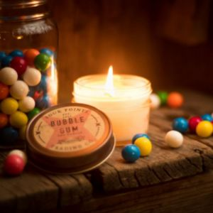 Bubble Gum Soy Wax Candle | Four Points Trading Co.