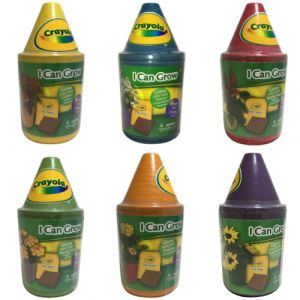 Crayola My First Garden Crayon Pot Grow Kit