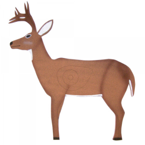 2D Archery Target Self-Healing - Standing Deer with Antlers