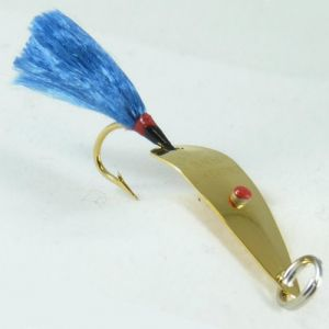Frizz's Fly Rod Spoon Lure Double Pack Gold