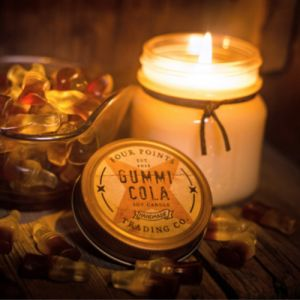 Gummi Cola Candy Soy Candle | Four Points Trading Co.