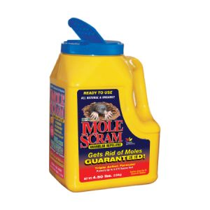 Mole Scram - 4.5 lb Shaker Bottle Mole Repellent