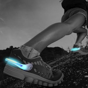 Power Spurz Shoe Lights for Night Running