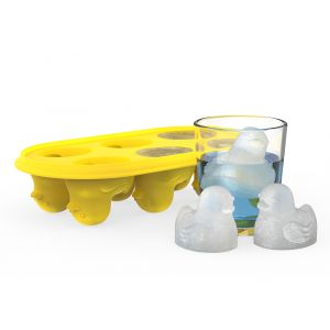Quack the Ice yellow duck silicone ice mold