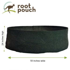Root Pouch 200 Gallon Fabric Raised Garden Bed Black