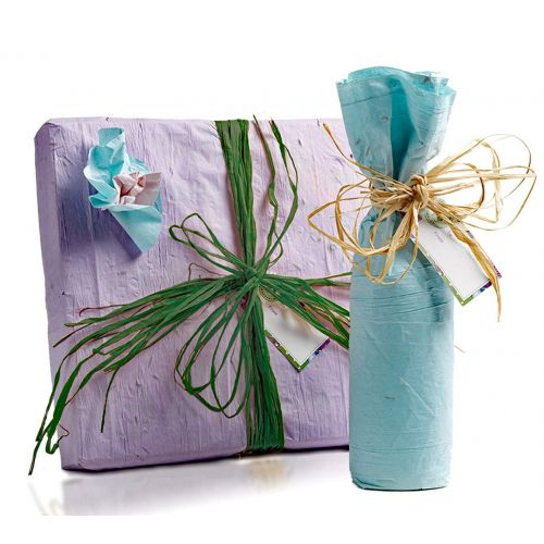 Flowering Seeded Gift Wrap Kit
