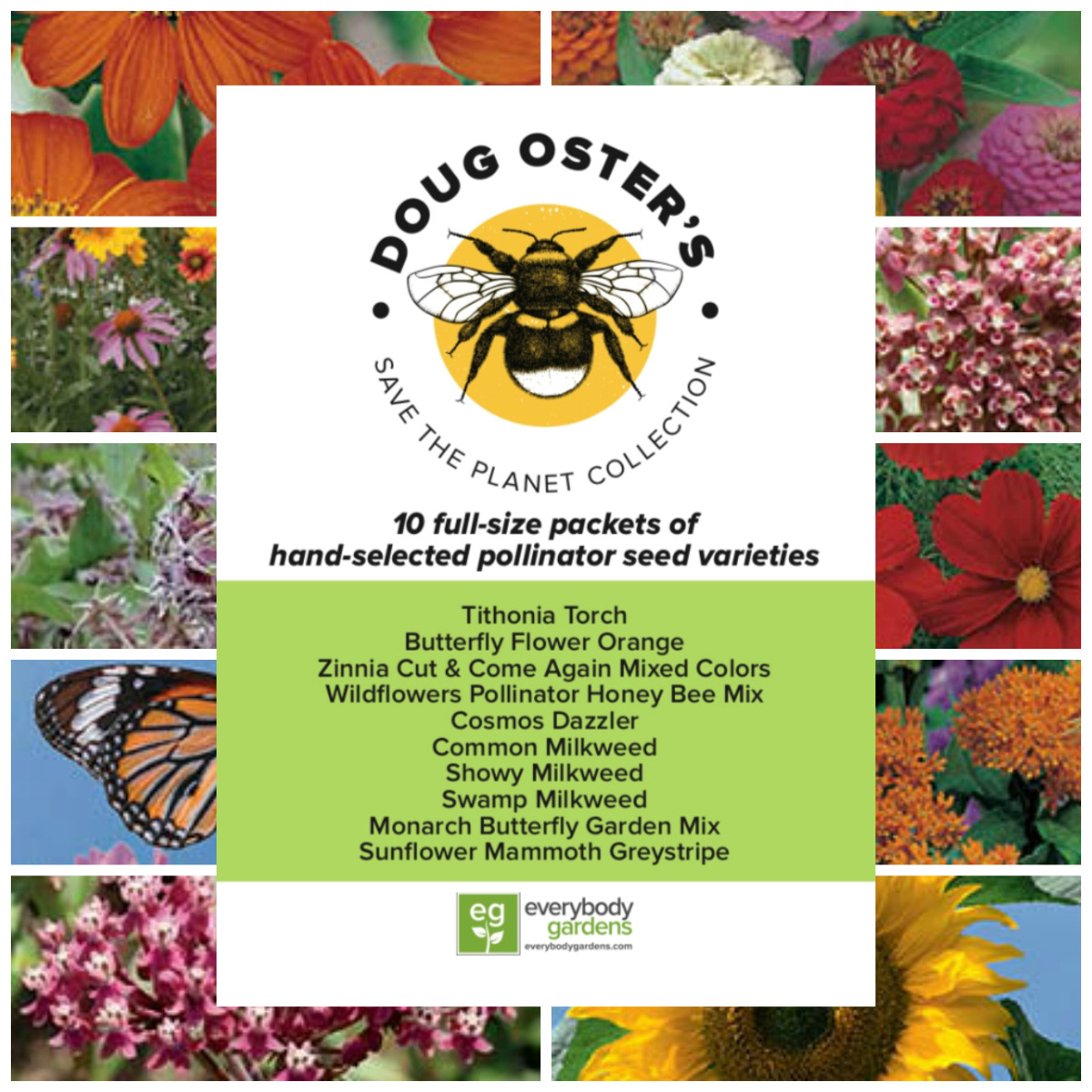 Doug Oster's Save the Planet Seed Collection