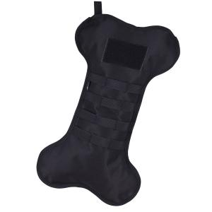 RuckUp Tactical K9 Dogbone Stocking by Osage River – Black