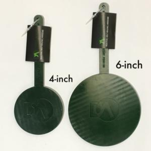 Self Sealing Hit-Indicating Cool Weather Black>Green Target – Double Action Targets